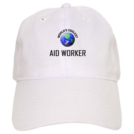World's Coolest AID WORKER Cap