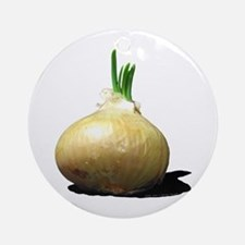 Sprouting Onion Ornament (Round)