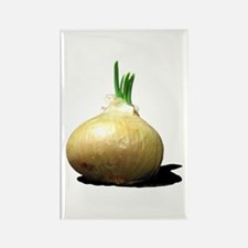 Sprouting Onion Rectangle Magnet
