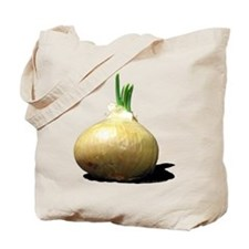 Sprouting Onion Tote Bag