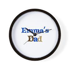 Emma's Dad Wall Clock