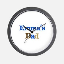 Emma's Dad Wall Clock