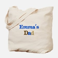 Emma's Dad Tote Bag