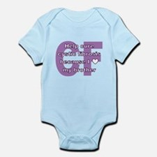 *heart* brother Infant Bodysuit