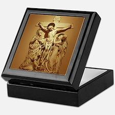 Crucifixion Keepsake Box