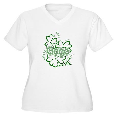 Gage Women's Plus Size V-Neck T-Shirt