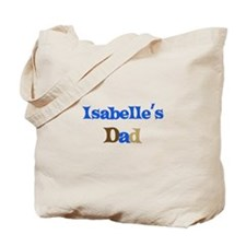 Isabelle's Dad Tote Bag