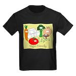 Veggie Friendly Kids Dark T-Shirt