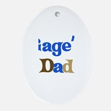 Gage's Dad  Oval Ornament