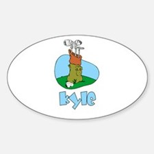 Kyle Oval Decal