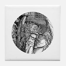 Melencolia by Durer Tile Coaster