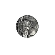 Melencolia by Durer Mini Button