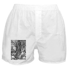 Melencolia by Durer Boxer Shorts