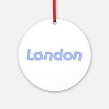 Landon Ornament (Round)