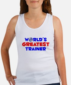 World's Greatest Trainer (A) Women's Tank Top