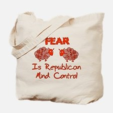 Fear Politics Tote Bag