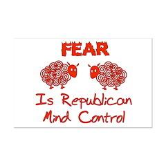 Fear Politics Posters