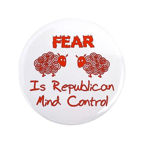 "Fear Politics 3.5"" Button (100 pack)"