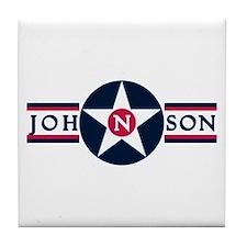 Johnson Air Base Tile Coaster