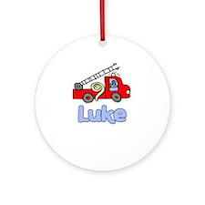 Luke Ornament (Round)