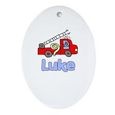 Luke Oval Ornament