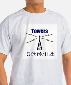 Towers Make Me High! T-Shirt