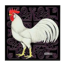 Leghorn Rooster Tile Coaster