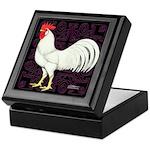 Leghorn Rooster Keepsake Box