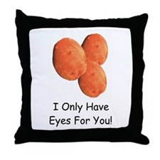Eyes For You! Throw Pillow