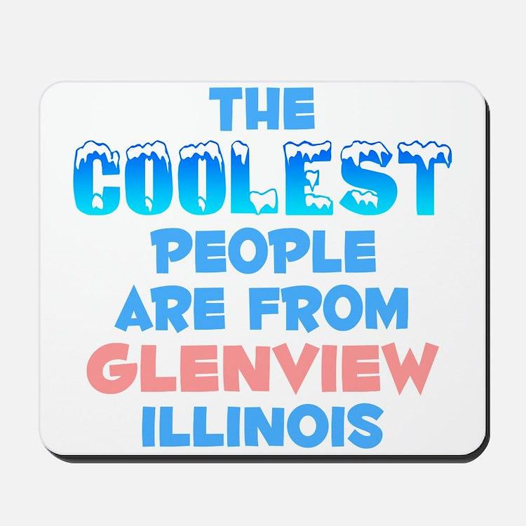 Coolest: Glenview, IL Mousepad