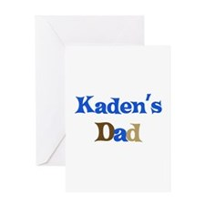 Kaden's Dad Greeting Card