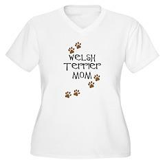 Welsh Terrier Mom T-Shirt
