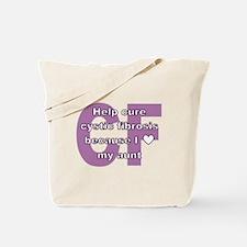 *heart* aunt Tote Bag