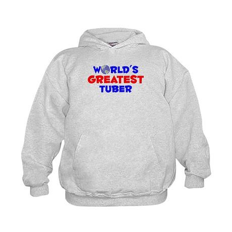 World's Greatest Tuber (A) Kids Hoodie