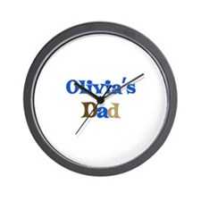 Olivia's Dad Wall Clock