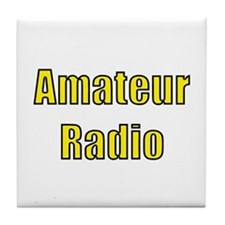Amateur Radio Tile Coaster