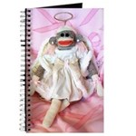 Sock Monkeys for the Cure Angel/Pink Journal