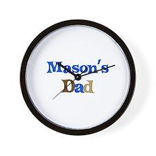 Mason's Dad  Wall Clock