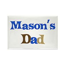 Mason's Dad Rectangle Magnet