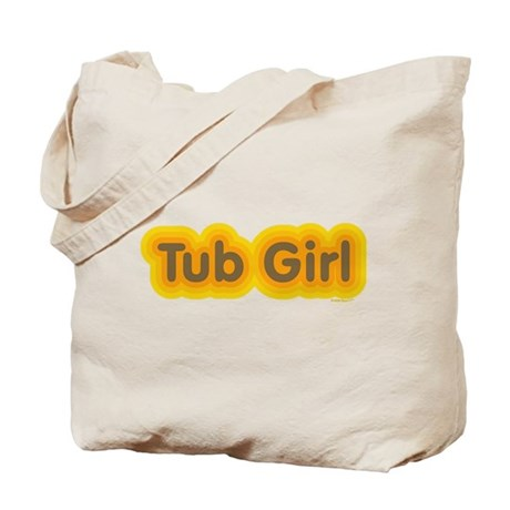 Tub Girl Mod Tote Bag