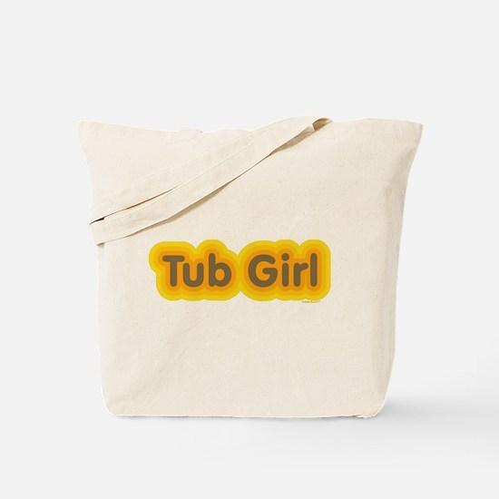 Tub Girl Mod Tote Bag