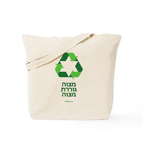 Green Jew Tote Bag