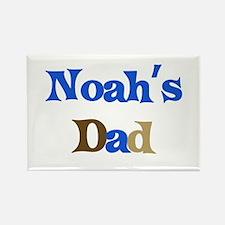 Noah's Dad Rectangle Magnet