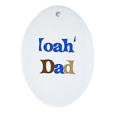Noah's Dad  Oval Ornament