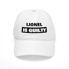 LIONEL is guilty Baseball Cap