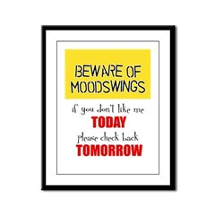Moodswings Framed Panel Print