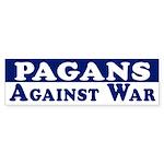 Pagans Against War bumper sticker