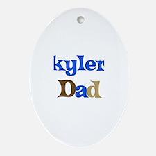 Skyler's Dad  Oval Ornament