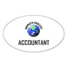 World's Coolest ACCOUNTANT Oval Decal