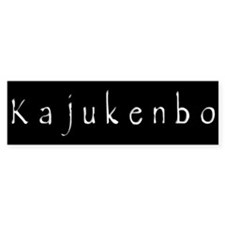 Kajukenbo Bumper Bumper Sticker